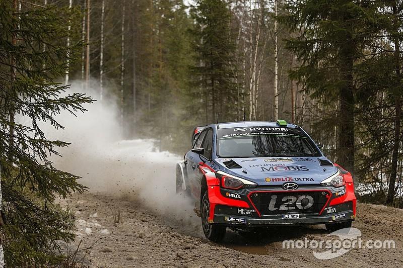 Se cancela otra etapa en el Rally de Suecia