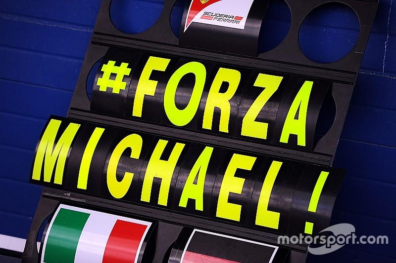 """Schumacher: la Kehm spera che un giorno torni """"di nuovo con noi"""""""