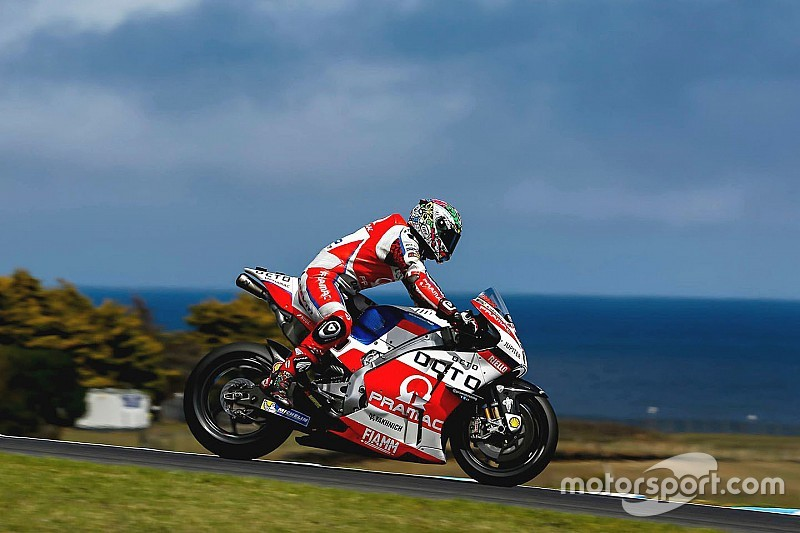 Petrucci breekt botten in crash Phillip Island