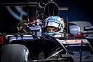 Max Verstappen rijdt eerste meters met nieuwe Toro Rosso