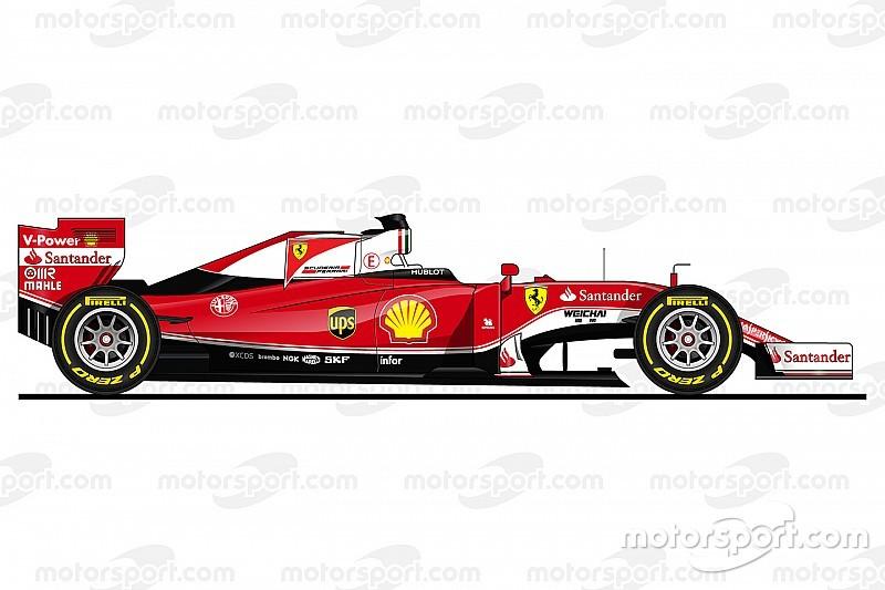 Galería: Los dibujos de los autos de F1 2016