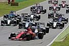 La F1 aprueba planes para tener autos más anchos y veloces en 2017