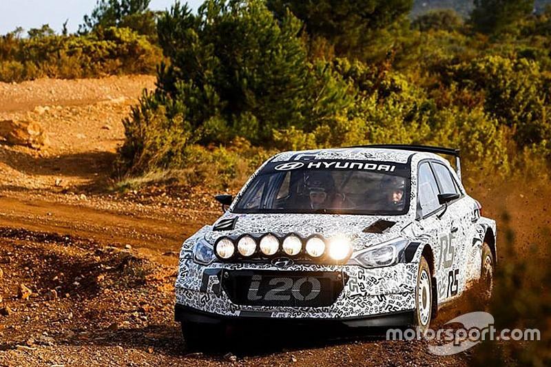 Conclusa la tre giorni di test in Francia per la Hyundai i20 R5