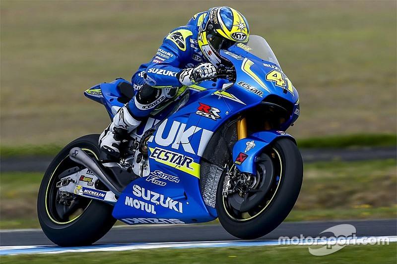 Suzuki in der MotoGP-Saison 2016 ein Kandidat für Podestplätze?
