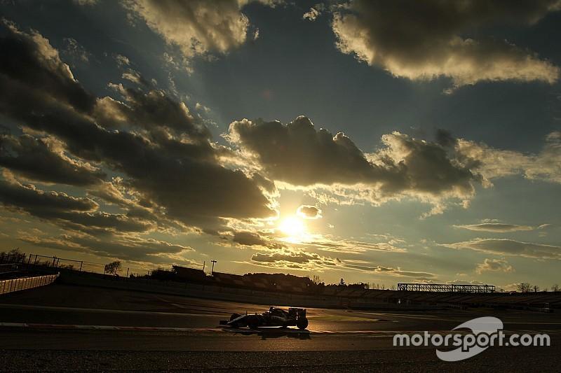 F1第二次巴塞罗那测试:车手名单