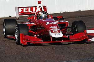 Indy Lights Gara Riscatto Rosenqvist, pole e vittoria in Gara 2