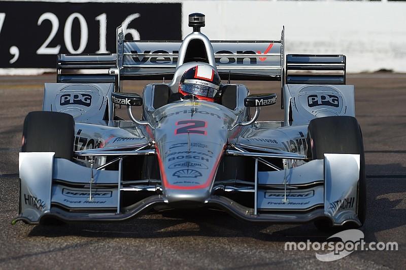 Juan Pablo Montoya triumphiert beim IndyCar-Saisonauftakt
