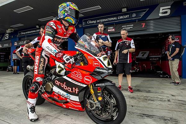 Ducati совсем немного уступает Kawasaki, считает Дэвис