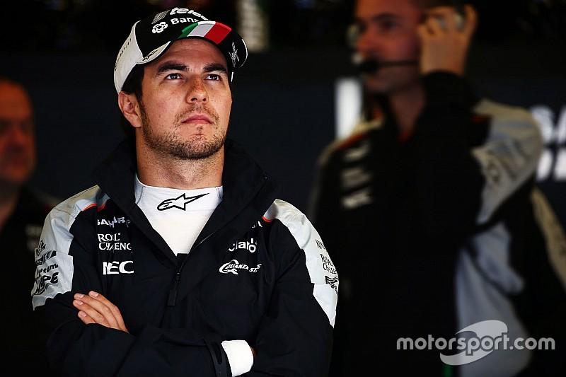 Sergio Pérez, motivado con el rendimiento del Force India