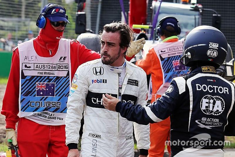 """Alonso: """"Hoy he gastado una de las vidas que me quedaban"""""""