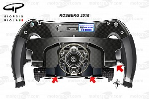 Формула 1 Аналитика Технический брифинг: руль Нико Росберга