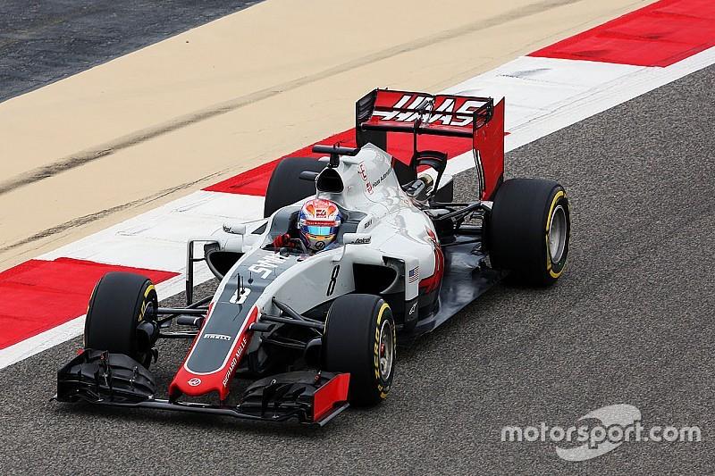 Haas: vibração causou quebra na asa de Grosjean
