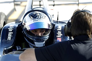 Indy Lights Qualifying report Kaiser takes Indy Lights pole in Phoenix