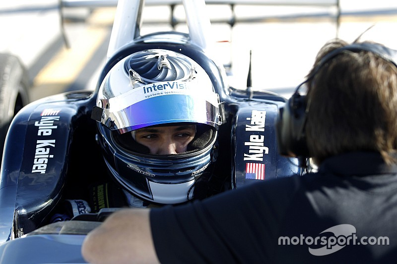 Kaiser takes Indy Lights pole in Phoenix
