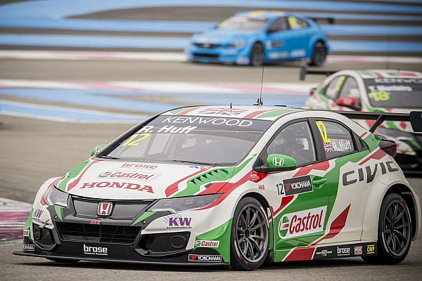 WTCC-Auftakt in Paul Ricard: Rob Huff siegt beim Debüt für Honda