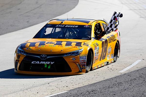 NASCAR Cup Kyle Busch suma su segundo triunfo en Martinsville