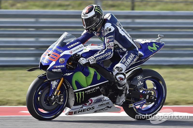 Лоренсо пожаловался на проблемы с мотором во второй тренировке