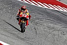 Marquez halve seconde los in vierde training