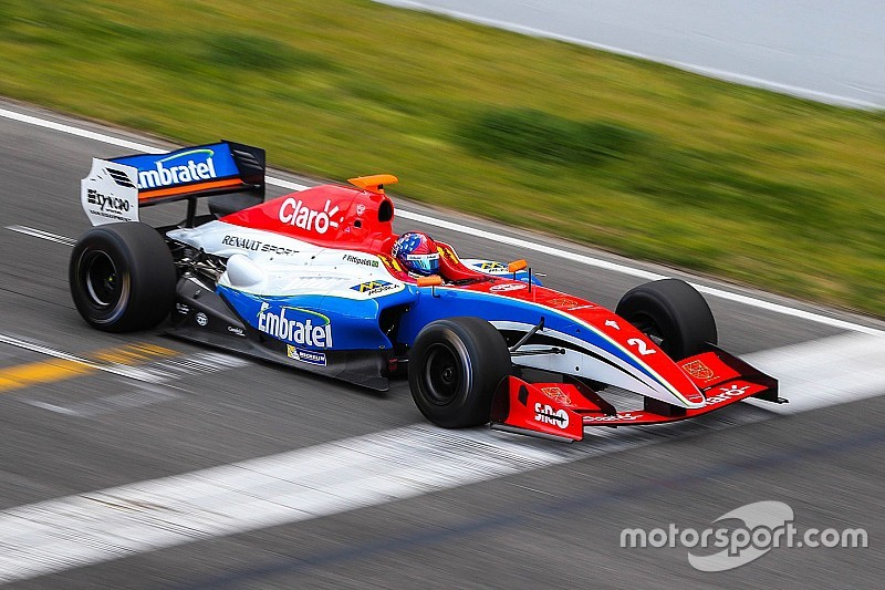 Pietro Fittipaldi encerra testes com 4º melhor tempo