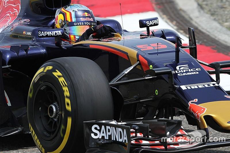 """Sainz: """"Las presiones de los neumáticos son excesivas"""""""