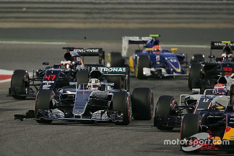 Hamilton explica su mala salida en Bahrein