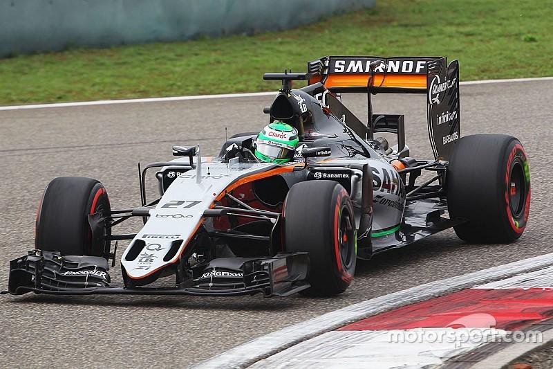 Strafe gegen Nico Hülkenberg nach verlorenem Rad im Qualifying