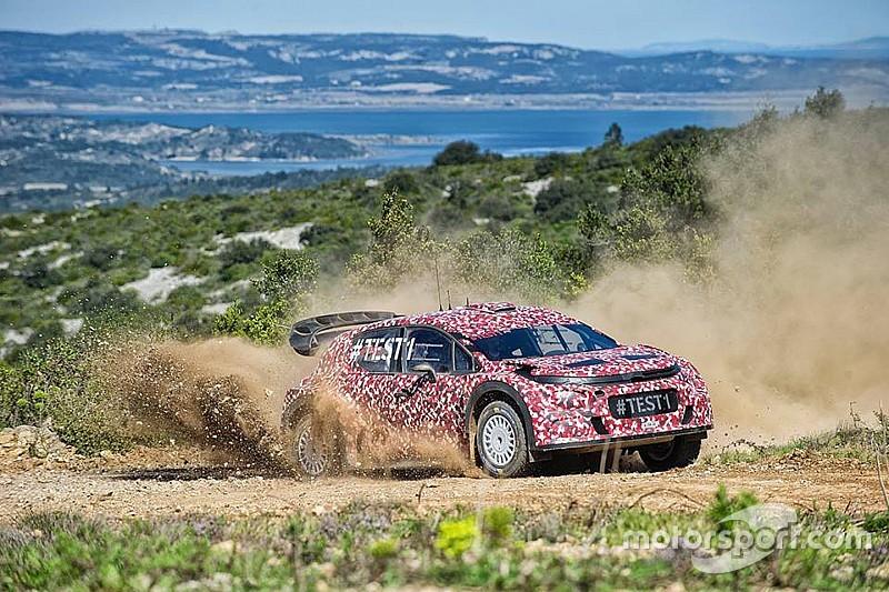 Мик сравнил новую C3 WRC с автомобилями группы B