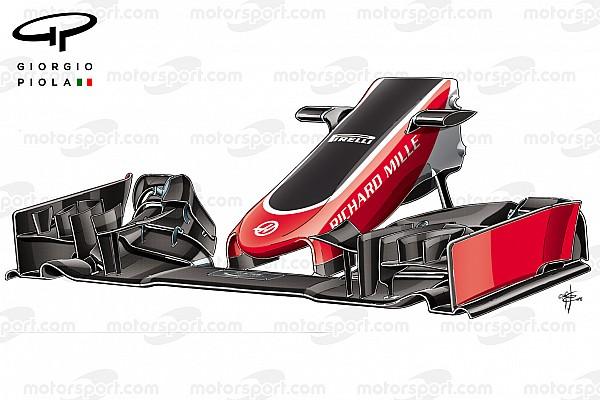 Análise Técnica: a primeira atualização da Haas na F1