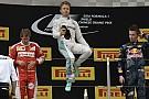 ¡A Mil Por Hora!  Rosberg apunta a la leyenda