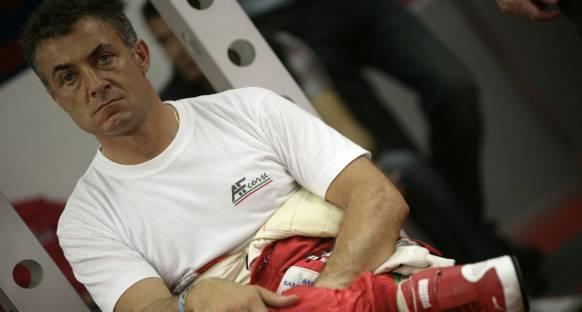 Alesi'den Grosjean'a moral destek