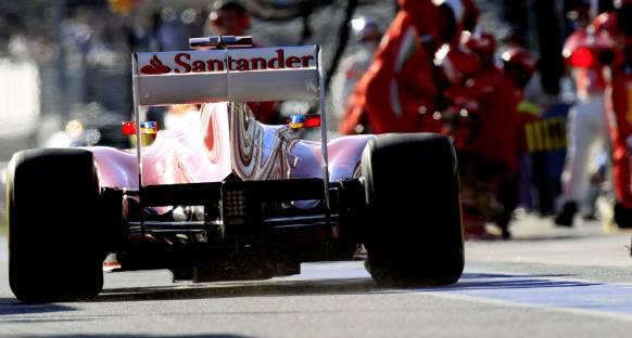 Medya: Alonso Ferrari'yi felaketten kurtardı