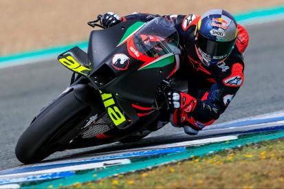 Erstes Kennenlernen: Andrea Dovizioso testet in Jerez die Aprilia RS-GP