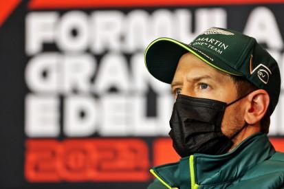 """Vettel über """"Rake""""-Nachteil: """"Möglichkeit zu wechseln gibt es nicht"""""""