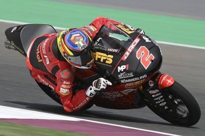 Moto3 in Portimao FT2: Rodrigo Schnellster, dann setzt Regen ein