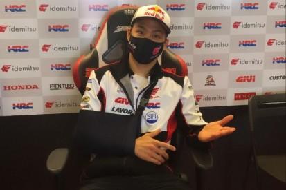 Starke Schmerzen nach Sturz: Trotzdem will Nakagami das Rennen bestreiten