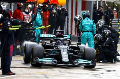Schwäche identifiziert: Mercedes arbeitet an den Boxenstopps