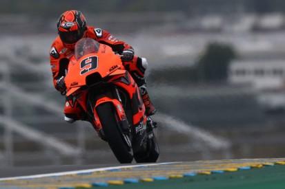 MotoGP in Le Mans: Petrucci im nassen Warm-up vorn - Honda-Duo gestürzt