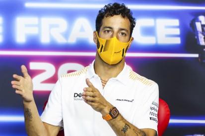 "Ricciardo: Am Ende des ""Tripleheaders"" sollte ich mich ""zu Hause"" fühlen"