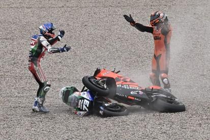 Nach Crash mit Alex Marquez: Danilo Petrucci schimpft auf Iker Lecuona