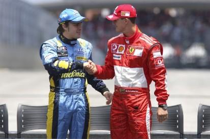"""Alonso über Michael Schumacher: """"Ich habe so viel von ihm gelernt"""""""