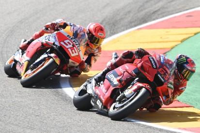 Bagnaia und Marquez schildern packendes Duell um Aragon-Sieg
