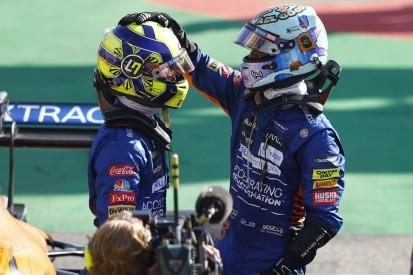 """McLaren-Duell um den Sieg: Norris hatte """"Bilder von Max und Lewis im Kopf"""""""