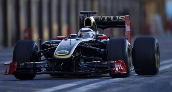 Raikkonen Lotus'un yüzünü güldürdü