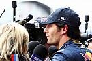 Horner ve Ecclestone Webber'e moral verdi