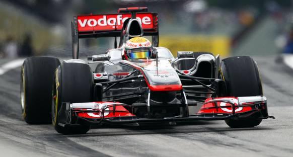 McLaren Hamilton'la ümitlendi