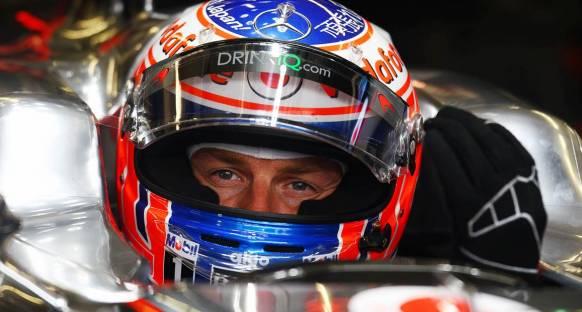 Button'nın jet-ski kazası İngiltere'de yarışmasına engel değil