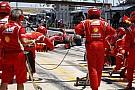 Massa pit stop sorununa yanıyor