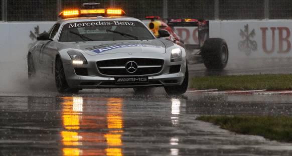 Yağmurlu yarışlarda FIA fazla mı temkinli?