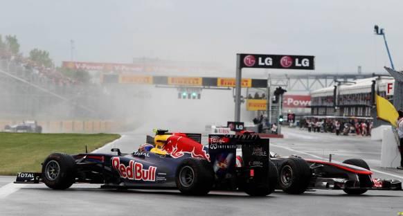 Webber: Hamilton'nın hamlesi acemiceydi