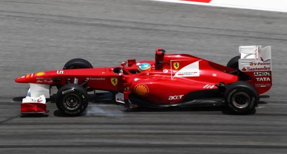 Alonso: Stresli bir gündü